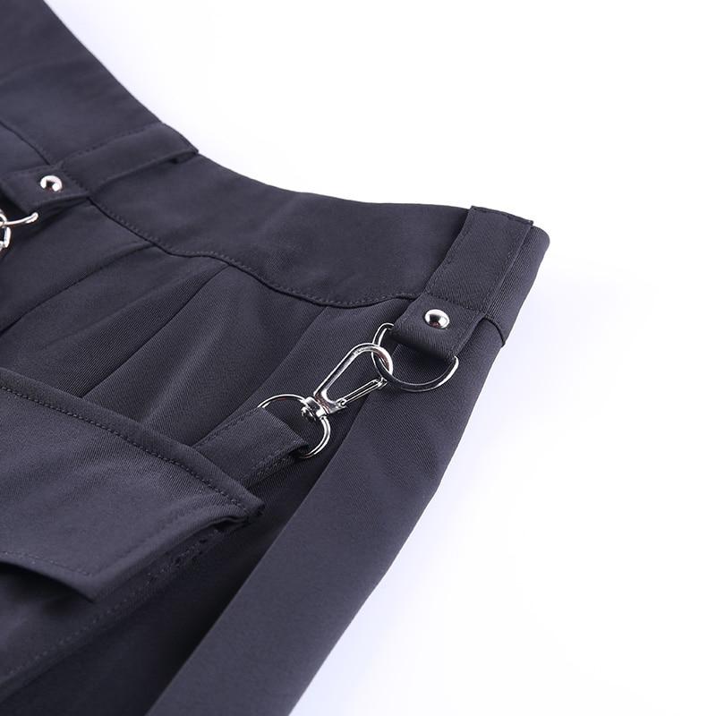 Black Skirts with Bandage Pastel gothic E-girl 48