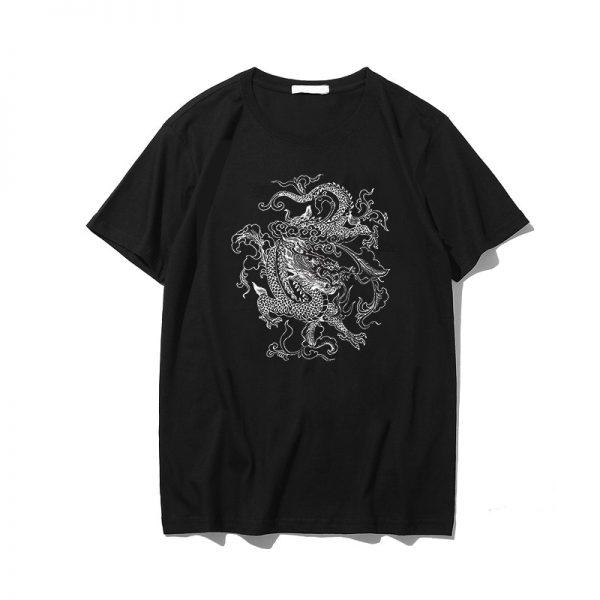 Dragon print T-shirt 3