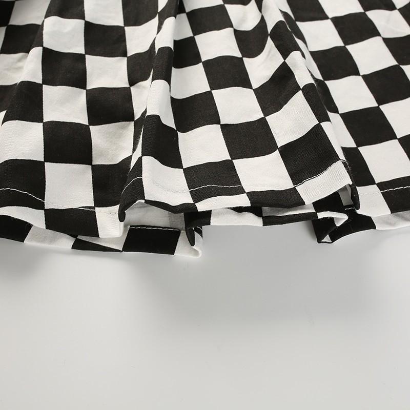 Checkered Harajuku Skirt E-girl 50