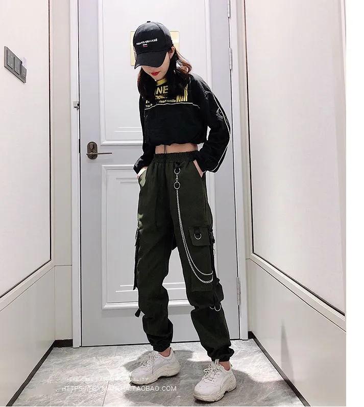 Women's Cargo Pants Egirl Anime Pastel gothic 48