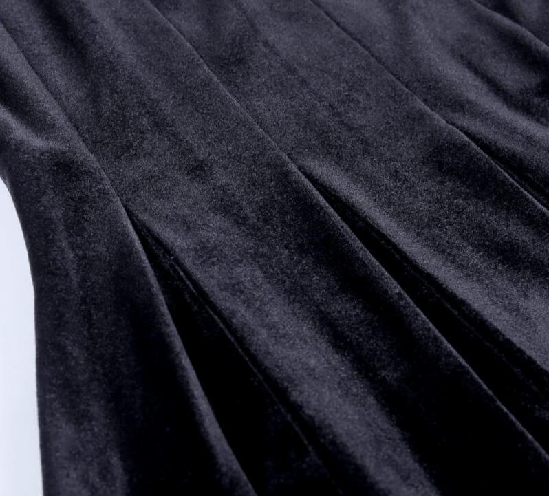 Pastel Gothic Mesh sleeve Vintage Dresses 49