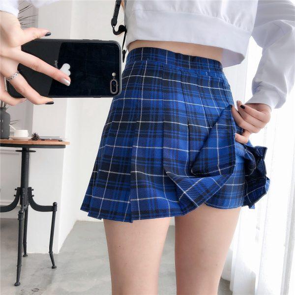 Harajuku Tartan Women Skirt 33