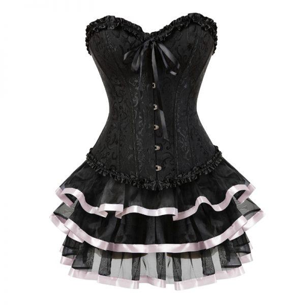 Corset and skirt set  6