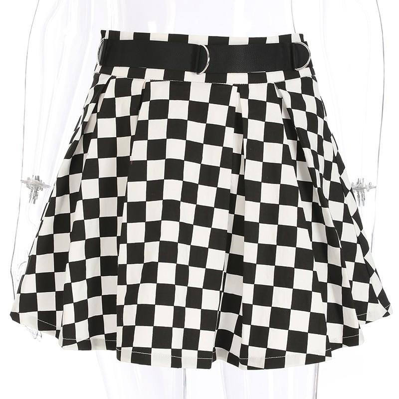 Checkered Harajuku Skirt E-girl 41