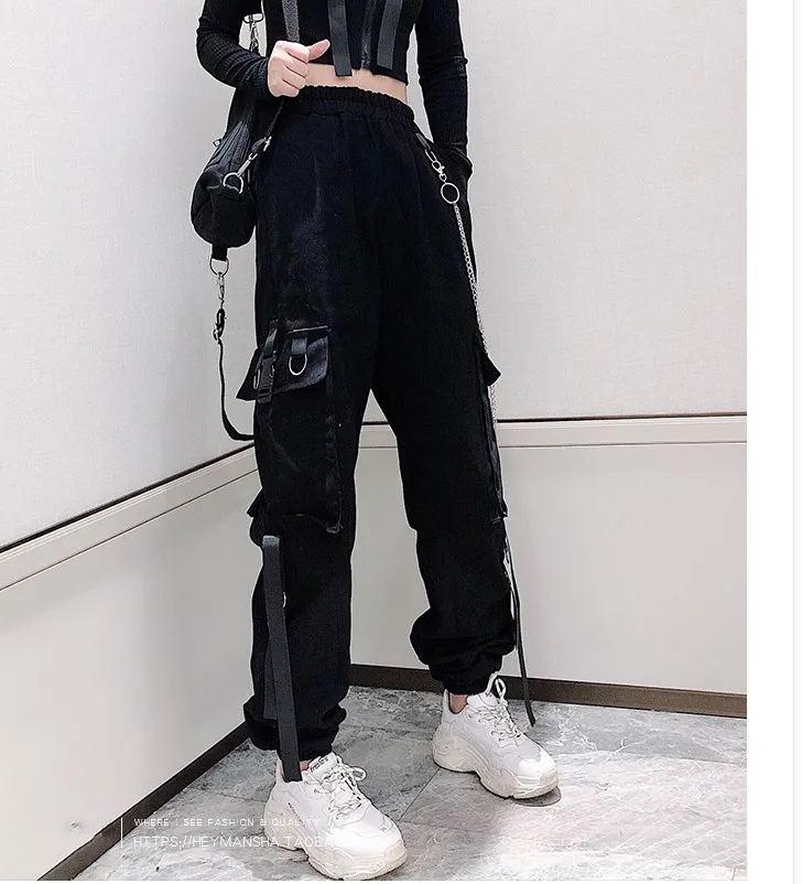 Women's Cargo Pants Egirl Anime Pastel gothic 42