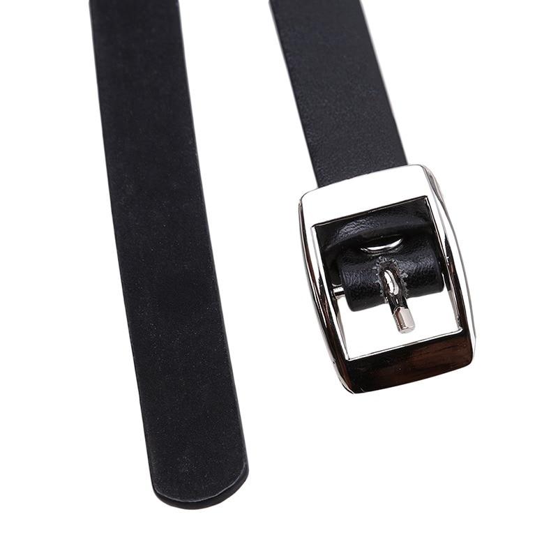 Pastel gothic Leather Body Bondage Waist Belt 47