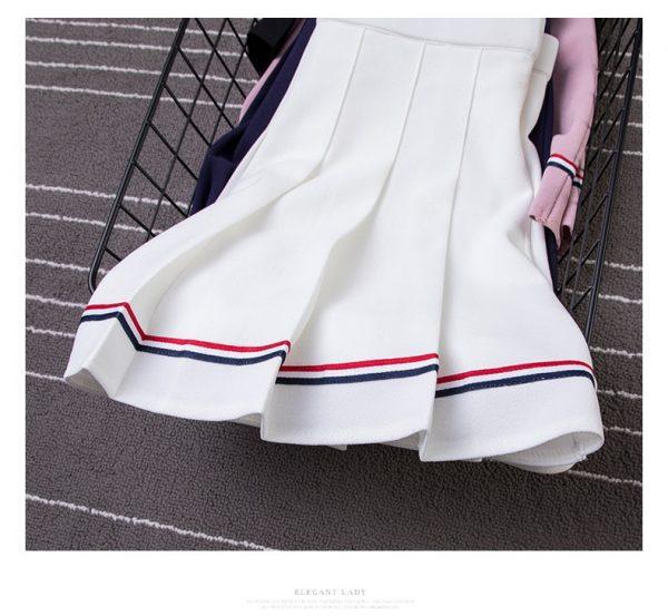 High Waist Striped Skirt  41