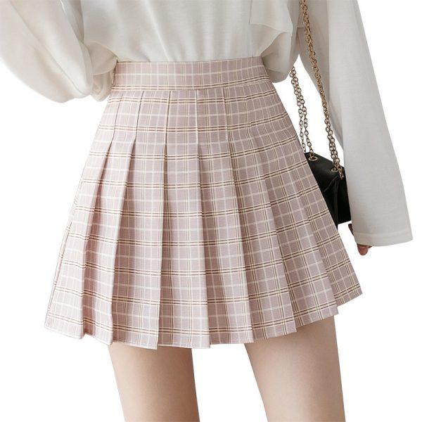 High Waist Striped Skirt  6