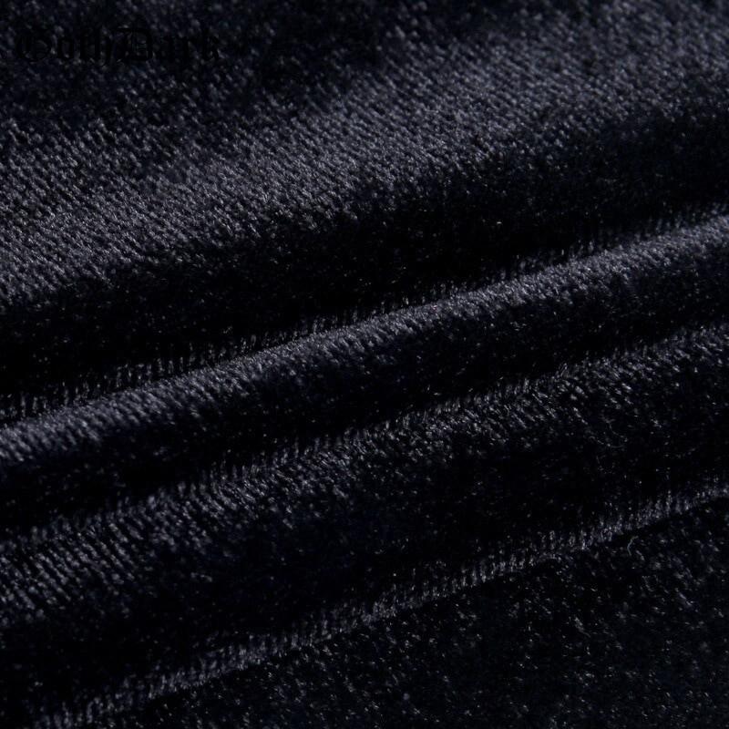 Pastel Gothic Mesh sleeve Vintage Dresses 51