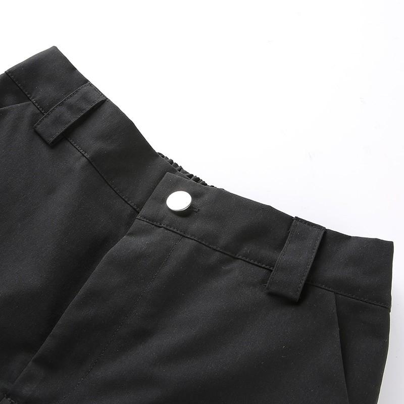 Cargo Hollow Out Pantalon E-girl 50