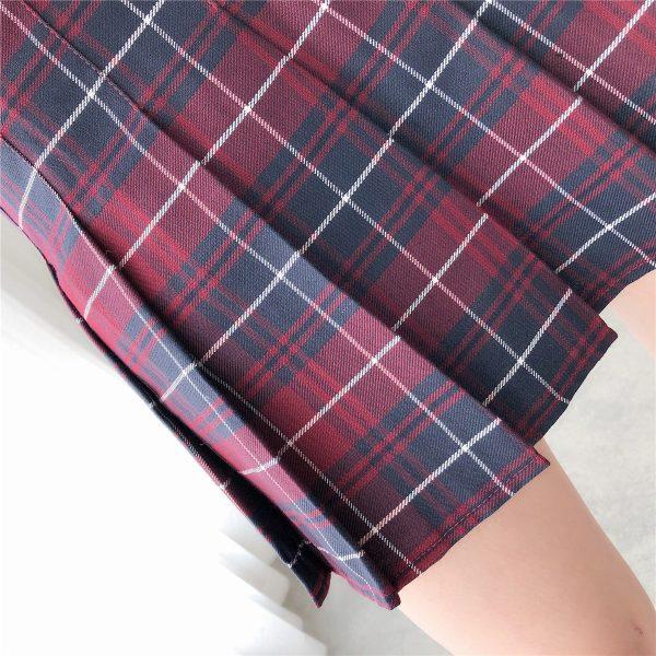 Harajuku Tartan Women Skirt 31