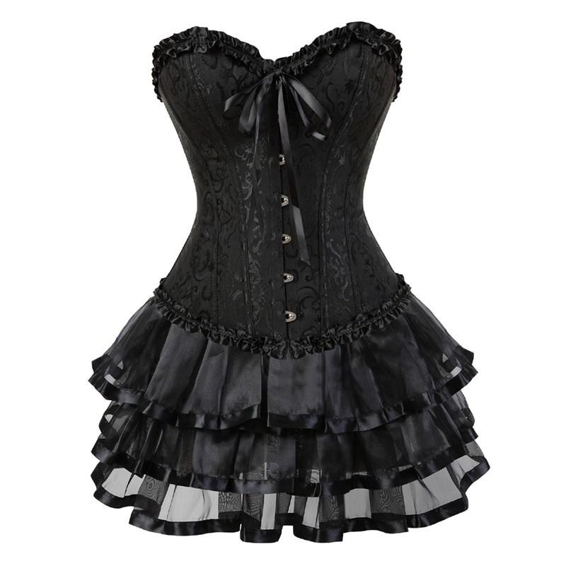 Corset and skirt set E-girl Harajuku 4