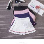 High Waist Striped Skirt  40