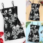 Dragon Pattern Sleeveless Dress 5