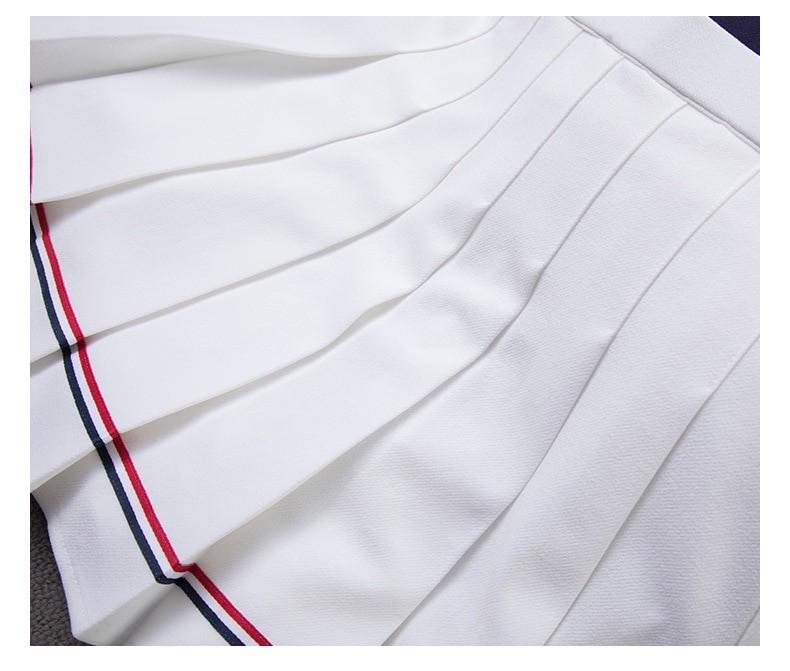 High Waist Striped Skirt E-Girl Soft girl 46