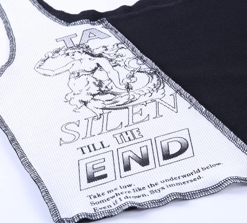 Tank Top with graphic print Egirl Punk 47