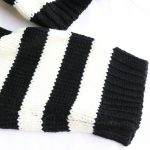 Striped oversize cropped Sweater 8