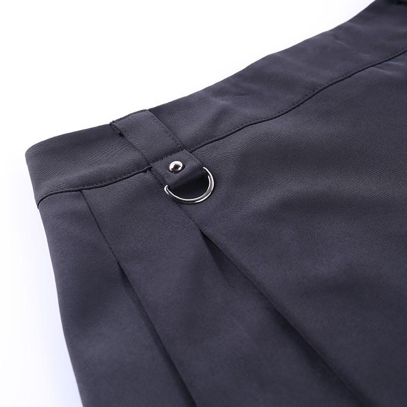 Black Skirts with Bandage Pastel gothic E-girl 45