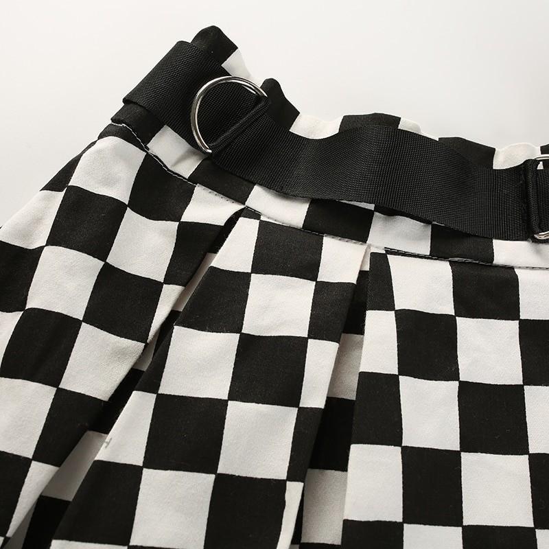Checkered Harajuku Skirt E-girl 49