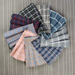 Plaid Pleated Mini Skirt 4