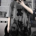 Harajuku streetwear loose T-Shirt 1