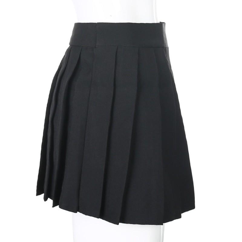 Open Mini Skirt with shorts E-girl Pastel gothic 42