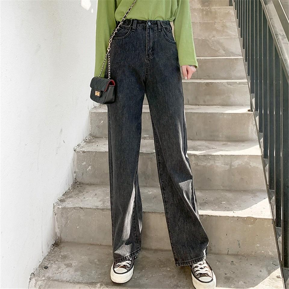 E-girl Soft girl High Waist Harajuku Straight Jeans 45