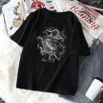 Dragon print T-shirt 2
