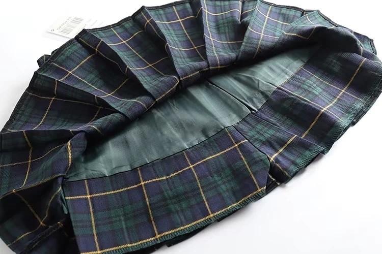 Harajuku E-girl Tartan Women Skirt 49