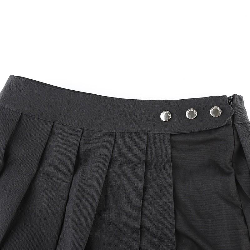Open Mini Skirt with shorts E-girl Pastel gothic 43
