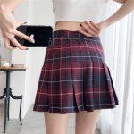 Harajuku Tartan Women Skirt 29