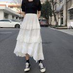 Asymmetrical Ruffle Maxi Skirt 5