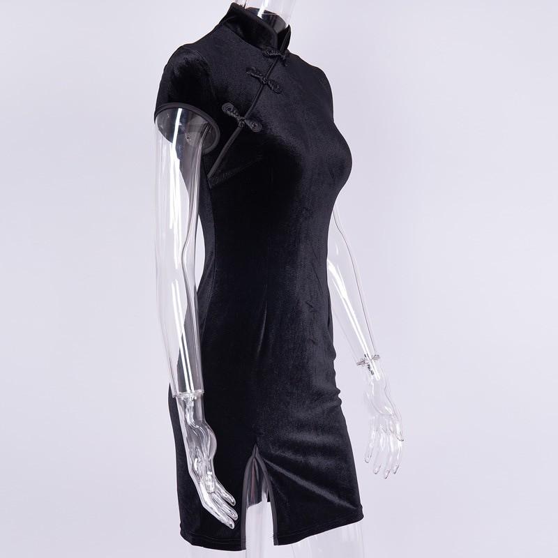 Pastel gothic E-girl cheongsam dress 42