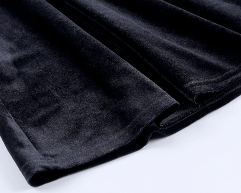 Pastel Gothic Mesh sleeve Vintage Dresses 50