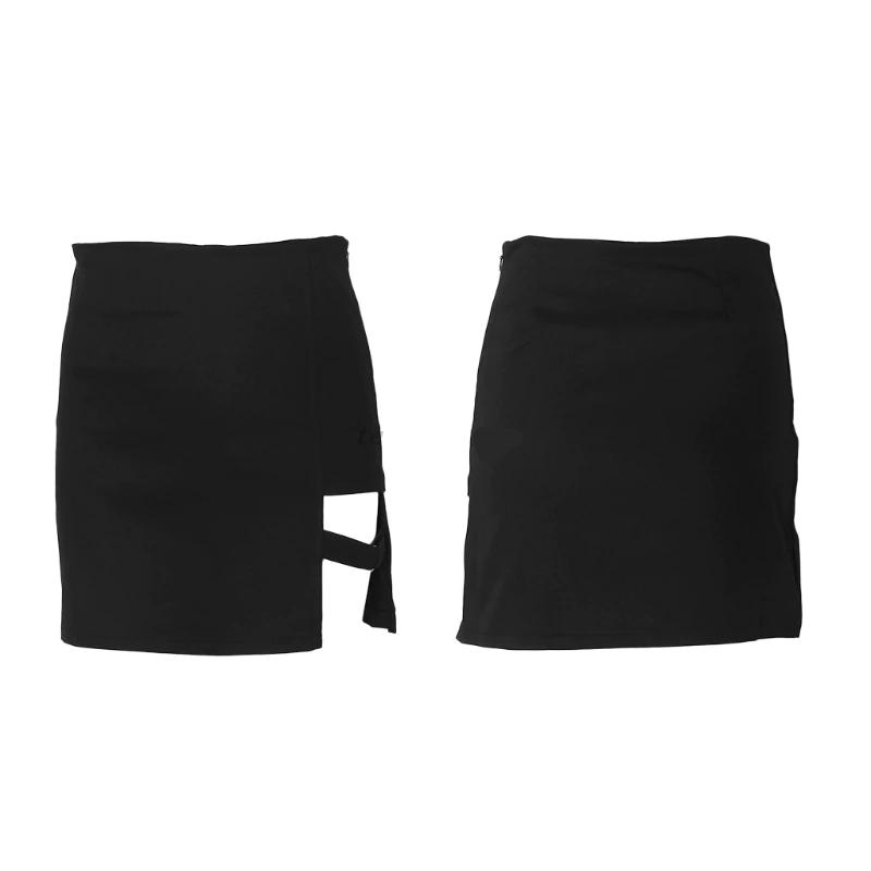 Mini Skirt with strap E-girl 41