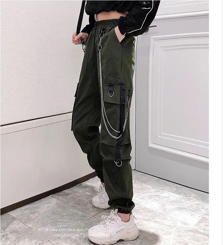 Women's Cargo Pants Egirl Anime Pastel gothic 47