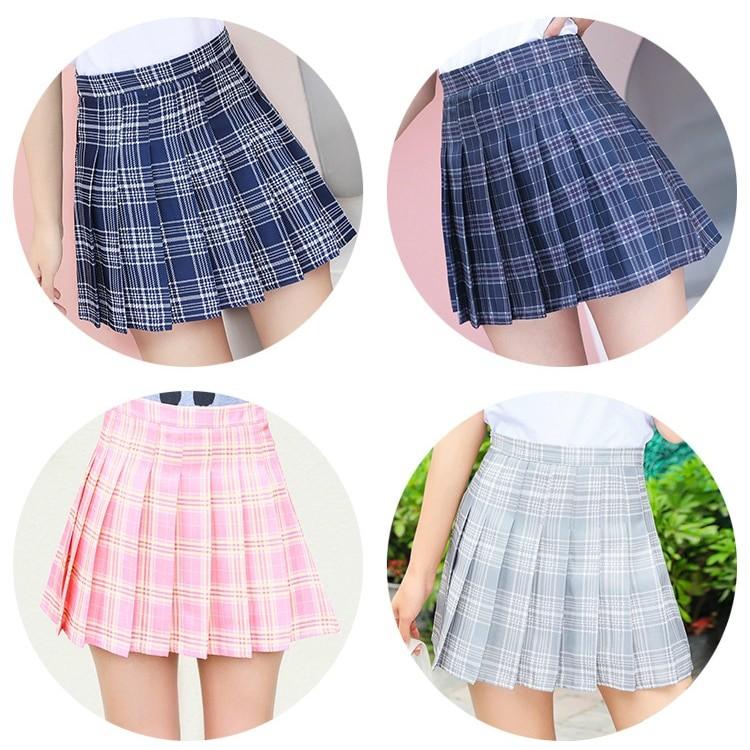 High Waist Striped Skirt E-Girl Soft girl 50