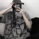 Harajuku streetwear loose T-Shirt 30