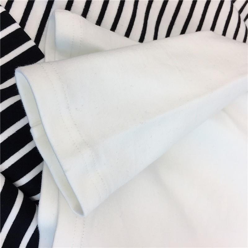 E-girl Harajuku Striped Turtleneck T-shirts 47