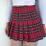 Harajuku Tartan Women Skirt 15