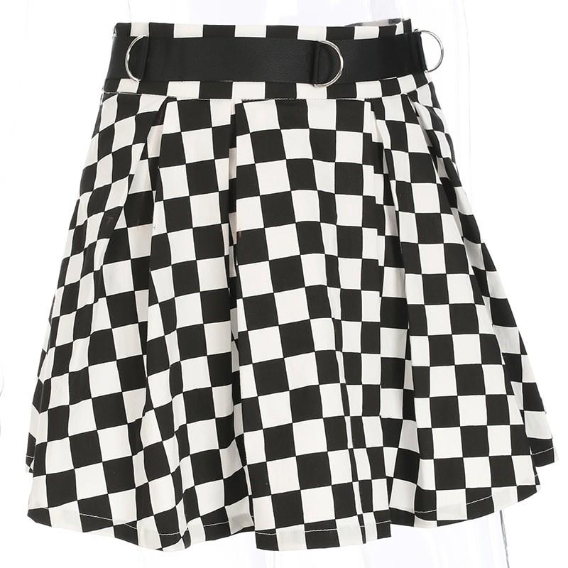 Checkered Harajuku Skirt E-girl 42
