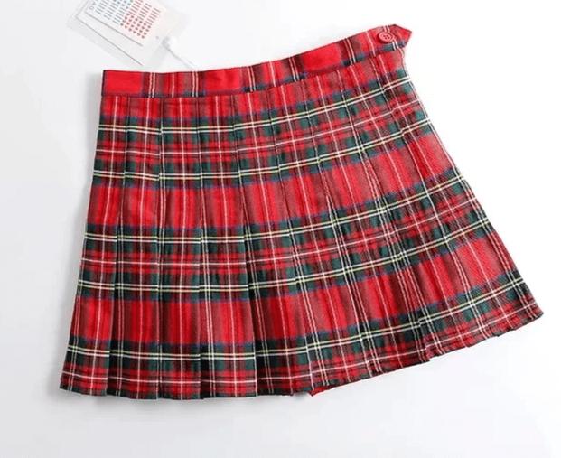 Harajuku E-girl Tartan Women Skirt 42