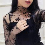 Black mesh shirt 16