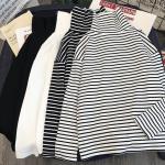 Striped Turtleneck T-shirts