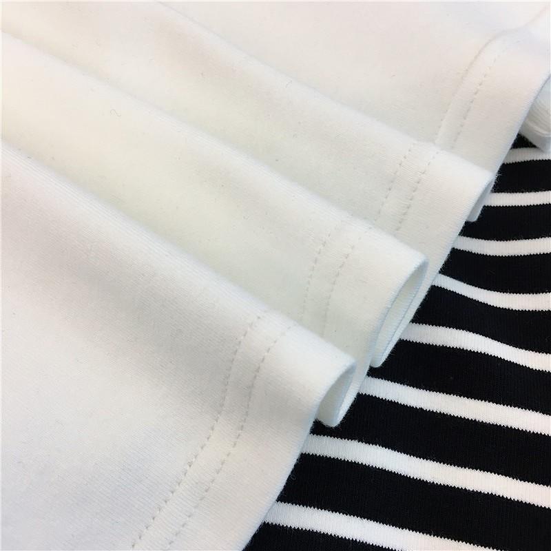 E-girl Harajuku Striped Turtleneck T-shirts 49