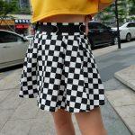 Checkered Harajuku Skirt  10