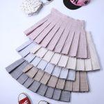 Plaid Pleated Mini Skirt 3