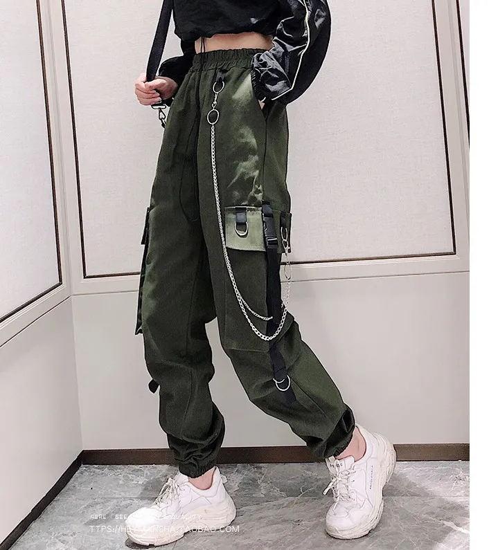 Women's Cargo Pants Egirl Anime Pastel gothic 44