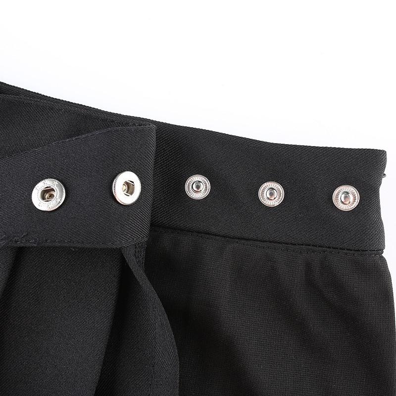 Open Mini Skirt with shorts E-girl Pastel gothic 45