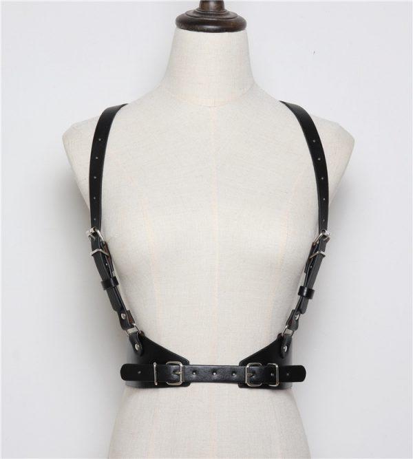 Leather Body Bondage 9